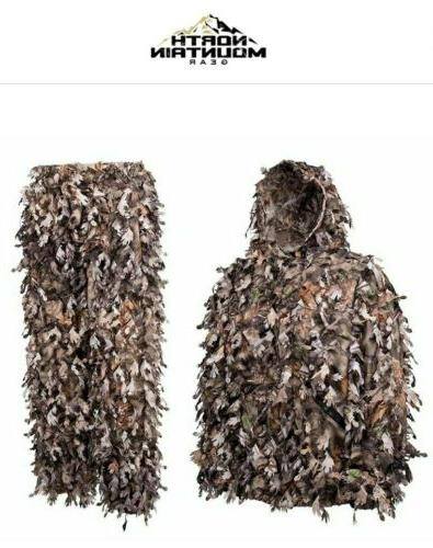 wicked woods brown solid shell leafy suit