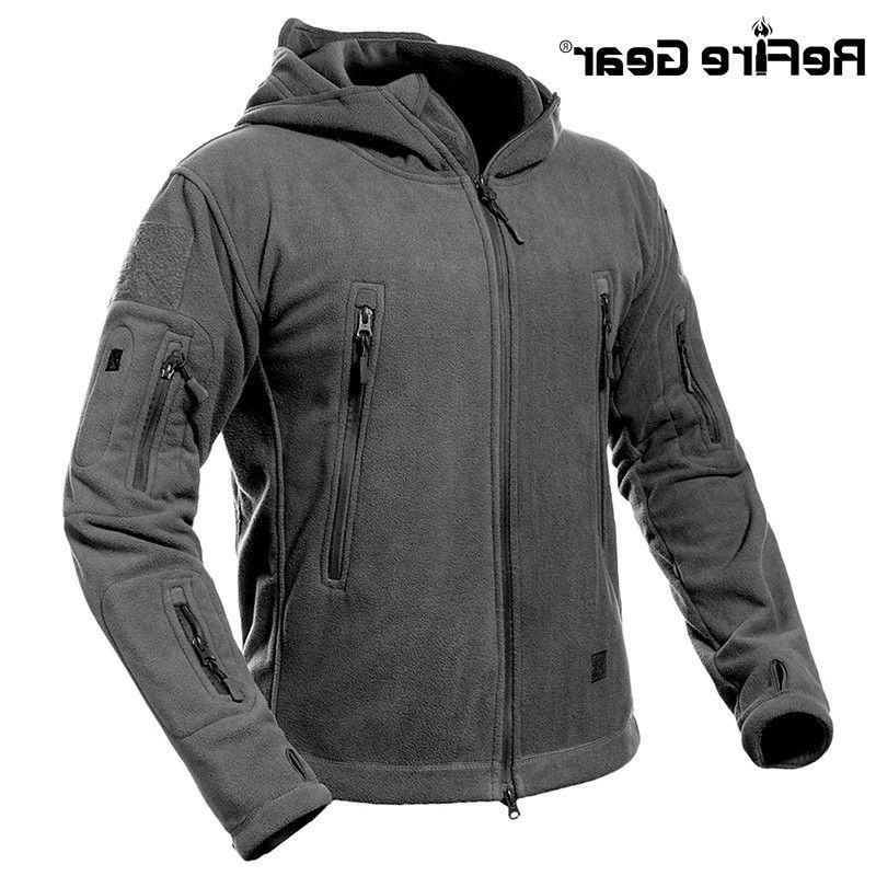 ReFire Thick Tactical Military Fleece Coat