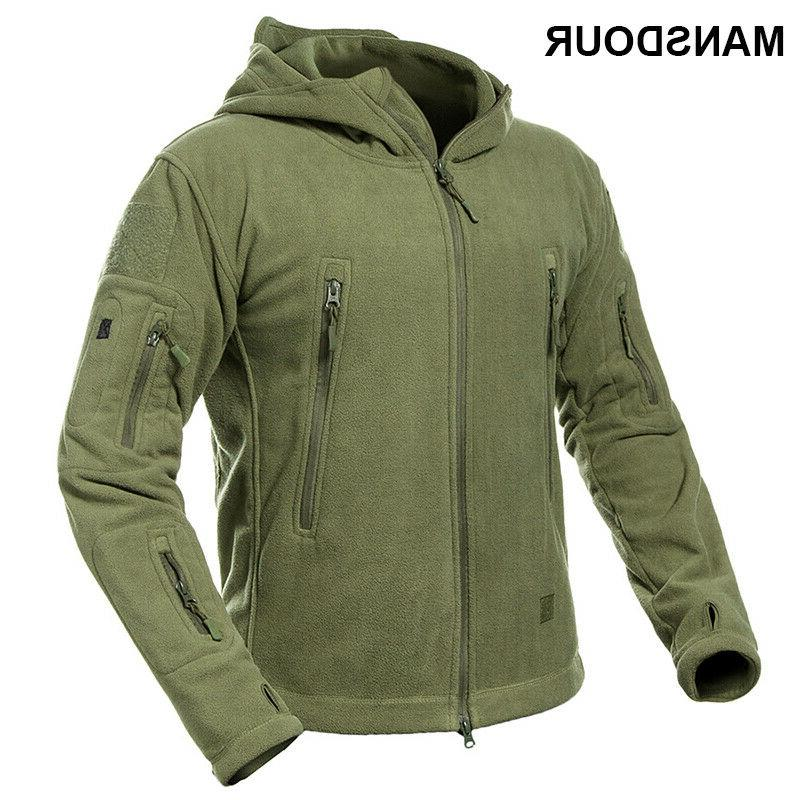 winter warm thick tactical jacket men military