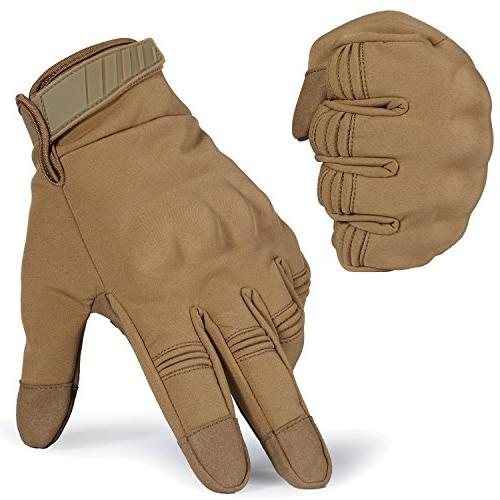 winter windproof warmer touch military
