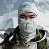 Wintertime Cervix - Tactical Mask Hood Headgear Cap Camoufla