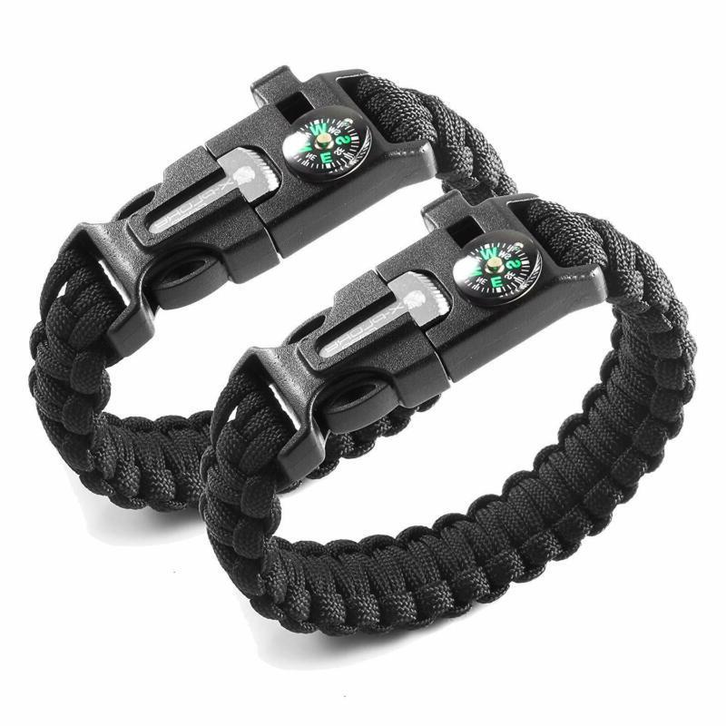 X-Plore Gear Emergency Paracord Bracelets 2  The Surv
