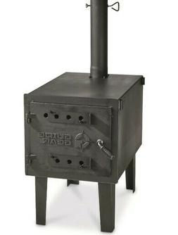 Guide Gear Large Outdoor Wood Stove Camping Outdoor Cooking