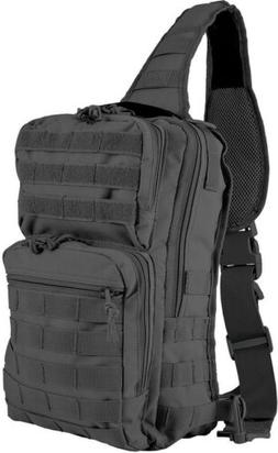 Red Rock Outdoor Gear Large Rover Sling Pack - Black 80130BL