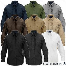 Propper Lightweight Tactical Shirt - Men's Long Sleeve Butto