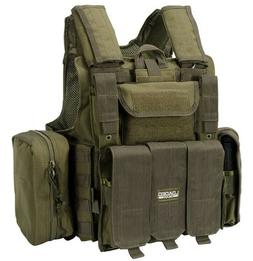 BARSKA Loaded Gear Tactical Vest VX-300 OD Green Plate Carri