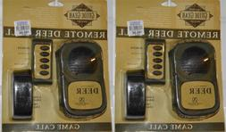 lot 2 new remote control deer call