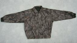 Natural Gear Men's Brown Camo Full Zip Turkey Deer Hunting J