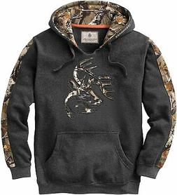 men s camo plaid outfitter hoodie