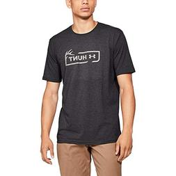 men s hunt icon short sleeve charcoal