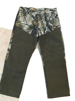 "Men's Hunting Outdoors Outerwear Camo Pants. 38"" x 30"". Wran"