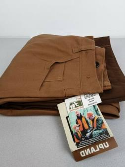 Men's Walls Upland Gear brown 100% Cotton duck hunting pants