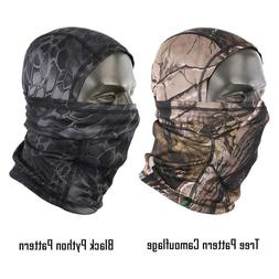 Men Winter Full Face Mask Tactical Cold Gear Hood Camouflage
