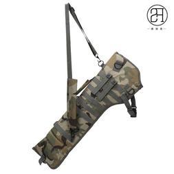 men women outdoor carbine double case bag