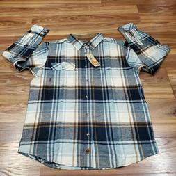 Legendary Whitetails Men's LARGE Buck Camp Flannel Shirt P