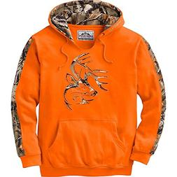 Legendary Whitetails Mens Outfitter Hoodie Inferno X-Large