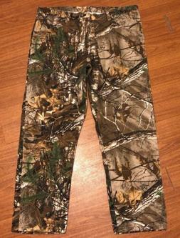 Mens Wrangler Pro Gear Insulated Hunting Pants Realtree Xtra