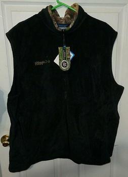 Columbia Mens Size XXL Performance Hunting Gear Fleece Vest