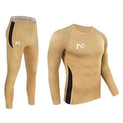 mens thermal underwear set sport long johns