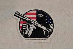 MESA TACTICAL SHOTGUN GEAR FIREARMS HUNTING RIFLE GUN STICKE