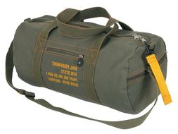 """Military Type Olive Drab Green Cotton Canvas 19"""" Equipment D"""