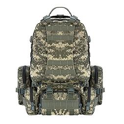 CVLIFE 60L Built-up Military Tactical Army Outdoor Backpacks