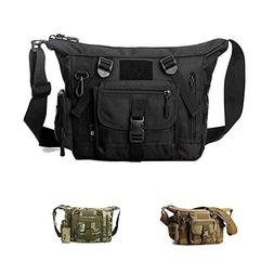 Military Shoulder Bag Large Water Resistant Daypack with Mol