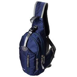 WASING Military Sport Pack Shoulder Sling Backpack Men Women