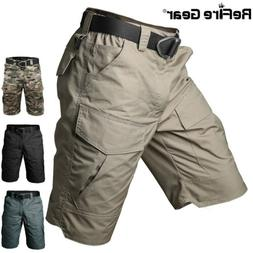 ReFire Gear Military Tactical Cargo Shorts Men Outdoor Hunti