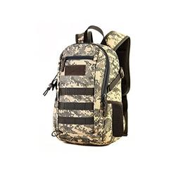 Huntvp 10L Mini Daypack Military MOLLE Backpack Rucksack Gea