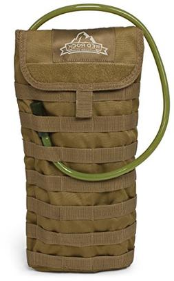 Red Rock Outdoor Gear Molle Hydration Pack, Coyote