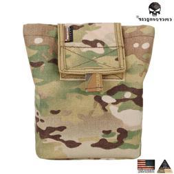 EMERSON Molle Magazine Dump Pouch Tactical Drop Pouch Army H