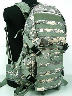 Tactical Molle Patrol Rifle Gear Backpack Hunting Camping Su