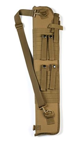 Red Rock Outdoor Gear Molle Shotgun Scabbard, Coyote