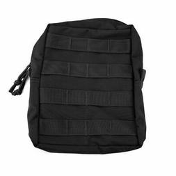 Red Rock Outdoor Gear Molle Utility Pouch, Black, Large