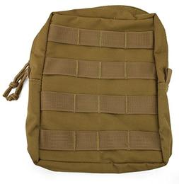 Red Rock Outdoor Gear Molle Utility Pouch, Coyote, Large