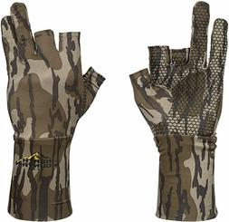 North Mountain Gear Mossy Oak Bottomland Fingerless Turkey H