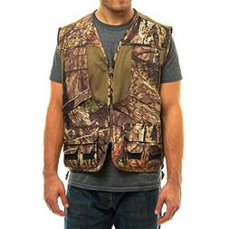 TrailCrest Mossy Oak Deluxe Front Loader Shooting Vest, 3X,