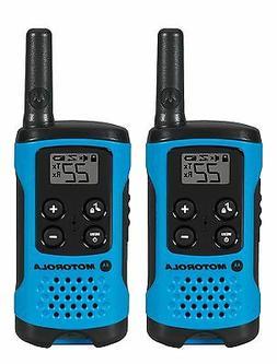 Motorola MOT-T100 Neon Blue 2 Pack 16 Mile Range Blue Radios