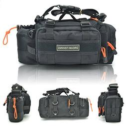 BLISSWILL Multifunctional Fishing Tackle Bag Water-Resistant