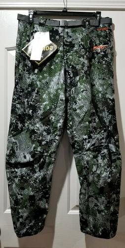 NEW Sitka Gear Downpour Gore-Tex Pants Optifade BG Big Game