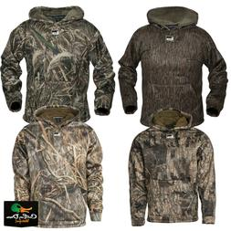 new gear atchafalaya hooded pullover fleece lined