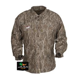 ce7924ad52d45 NEW BANDED GEAR MID WEIGHT HUNTING SHIRT BOTTOMLAND CAMO XL