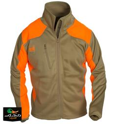 NEW BANDED GEAR UPLAND SOFT SHELL FULL ZIP JACKET BLAZE AND