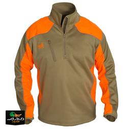 NEW BANDED GEAR UPLAND SOFT SHELL PULLOVER JACKET BLAZE AND