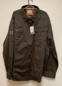 NEW Legendary Whitetails Mens Journeyman Rugged Shirt Jacket