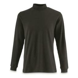 New Guide Gear Mens Mock Turtleneck Long-Sleeve Shirt Multip