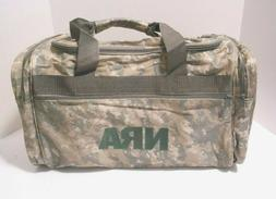 New NRA Camouflage Hunting, Ammo, Gym, Travel, Gear Bag