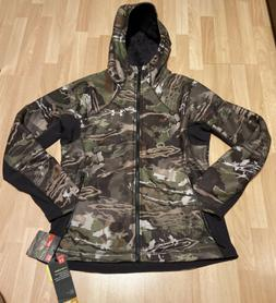 new womens storm cold gear camo jacket