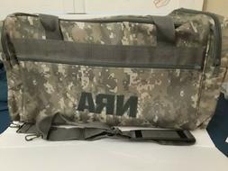 NRA Digital Camo Hunting Range Equipment Gear Travel Duffle
